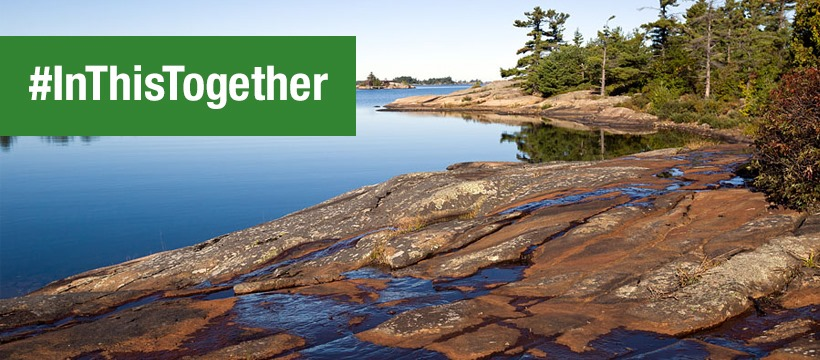 Georgian Bay Islands National Park on facebook - #Inthistogether