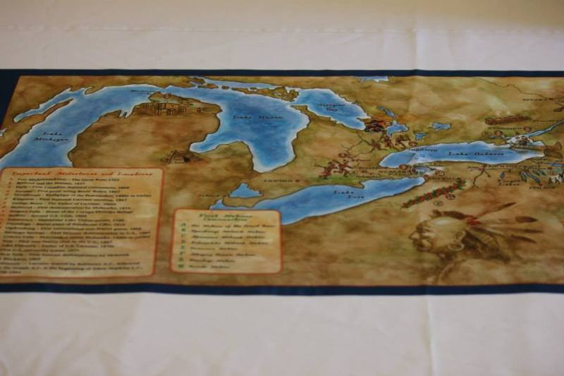 Huronia Museum exhibits include heritage maps