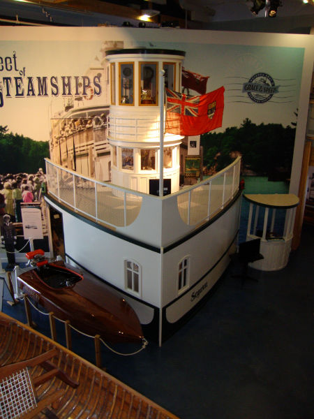 Muskoka Boat and Heritage Centre in Gravenhurst