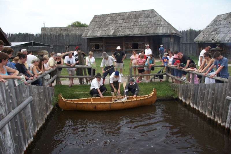 Plan your visit to Sainte-Marie among the Hurons