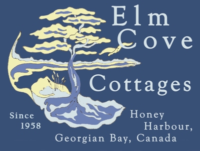 Elm Cove Cottages in Honey Harbour, Georgian Bay, Canada